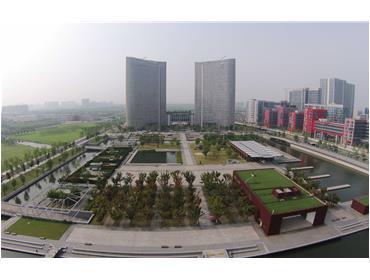 无锡新区水广场景观绿化亚博体育客户端下载2标